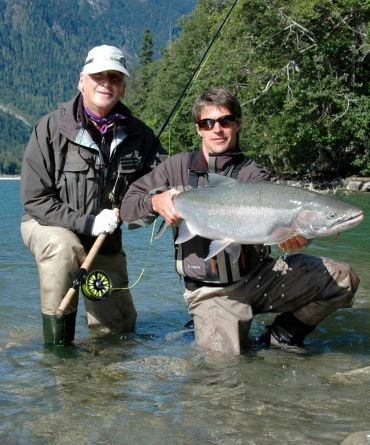 Wild Steelhead Flyfishing on the Lower Dean River, British Columbia